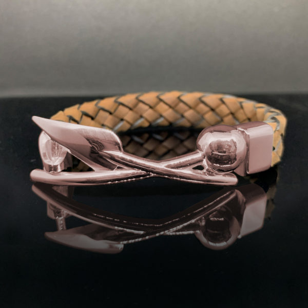 Warrior Bracelet Red-Gold