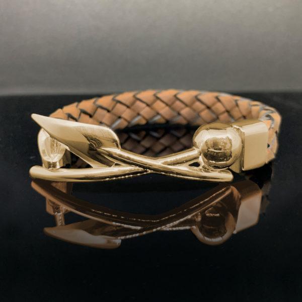 Warrior Bracelet Yellow-Gold