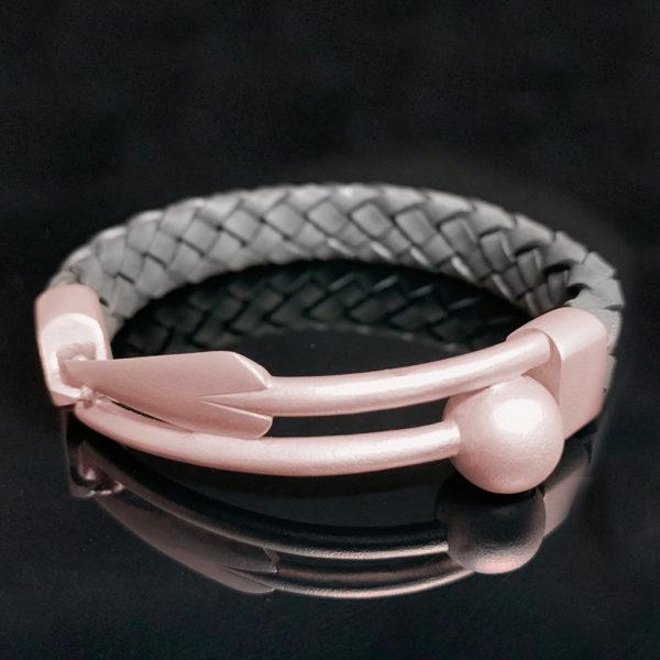 Zulu ID Bracelet Red-Gold
