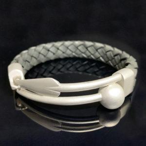 Zulu ID Bracelet White-Gold