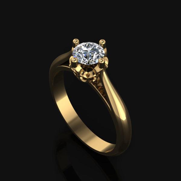 Cherry Ring Yellow-Gold