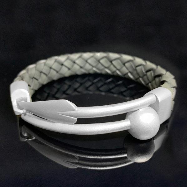 Zulu ID Bracelet Silver