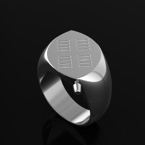 Zulu Signet Ring Silver