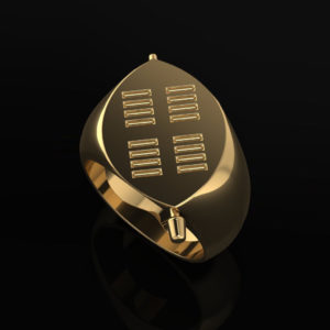 Zulu Signet Ring Yellow-Gold