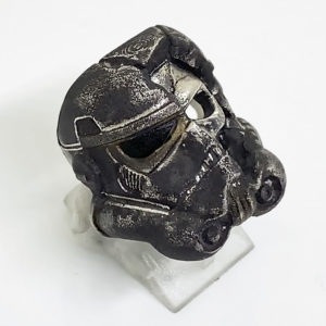 Death Trooper Ring Small Sterling-Silver