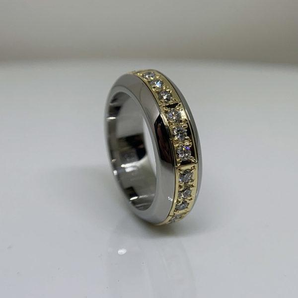 Diamond Roll Puzzle-Ring