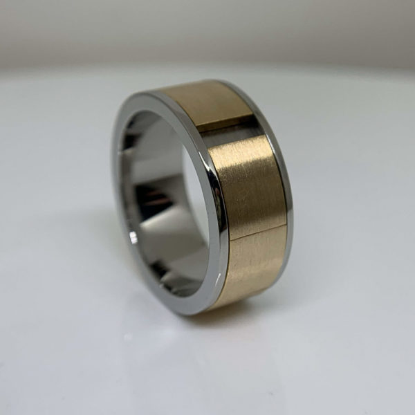 Flat Swivel Puzzle-Ring