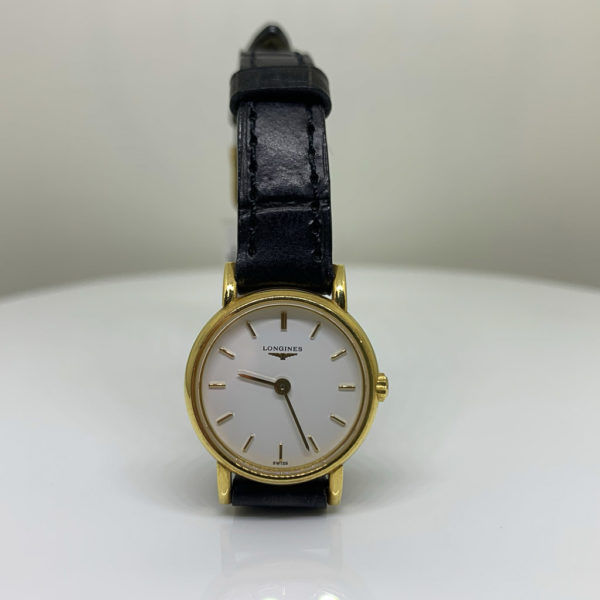 Longines - Vintage Ladies Round 18ct-Gold