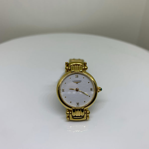 Longines - Vintage Ladies Round Gold-Plated