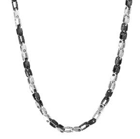 Steel black 60cm Chain ARZ-Steel