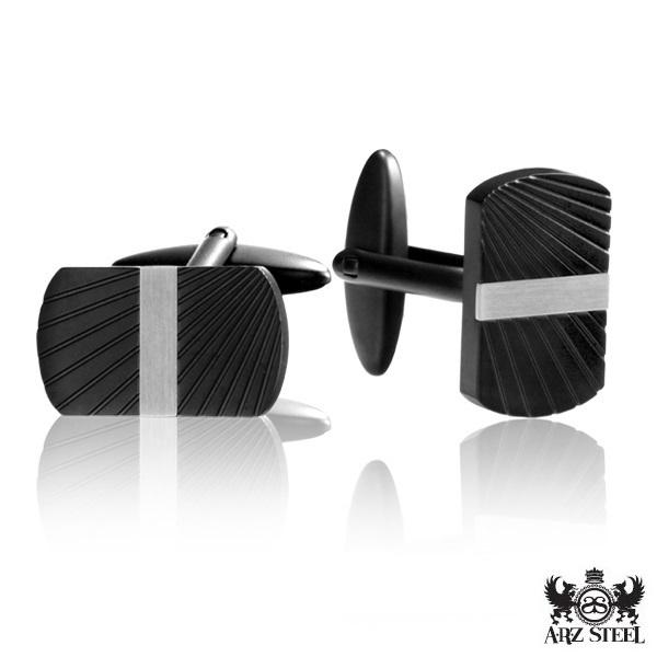 Steel Cufflinks ARZ-Steel
