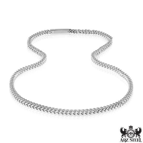 Steel Necklace ARZ-Steel