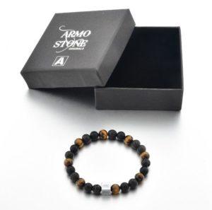 Armo Black Lava, Matt Onyx and Tiger Eye Stones Armo-Stone
