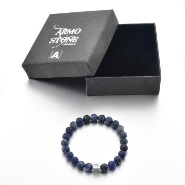 Blue Matt Sodalite Stones Armo-Stone