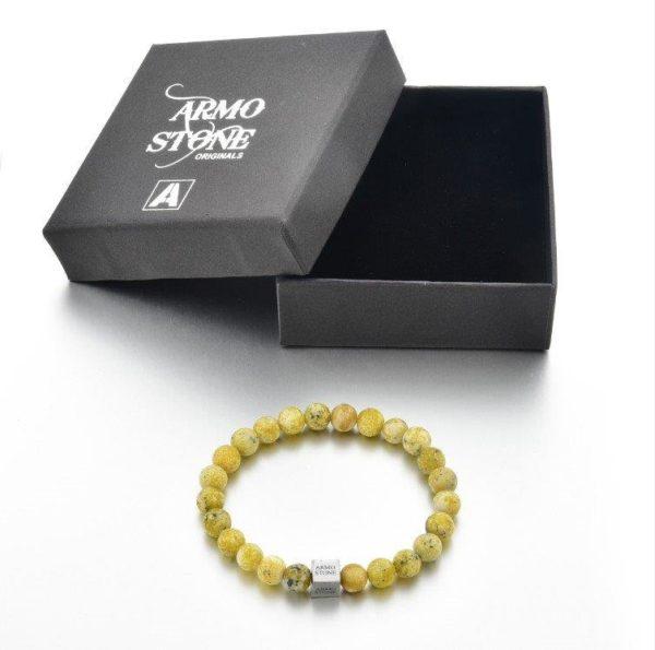 Matt Yellow Jasper Stones Armo-Stone
