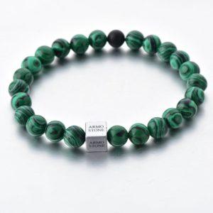 Malachite and 1 Onyx Stones Armo-Stone
